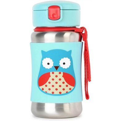 Skip Hop Stainless Steel Bottle Owl