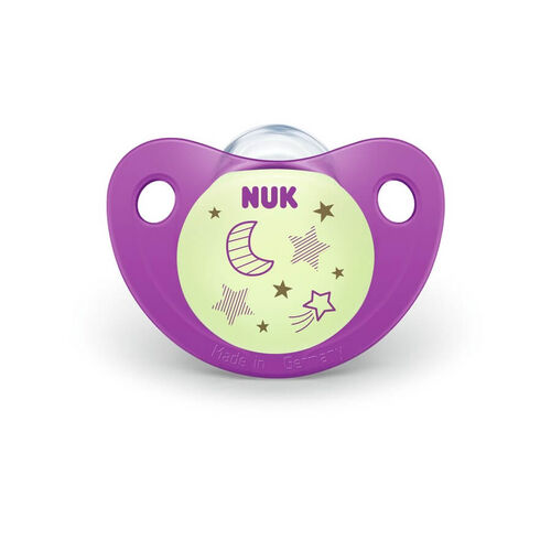 Nuk Night and Day Silicone Soother (2/Box) 0-6M