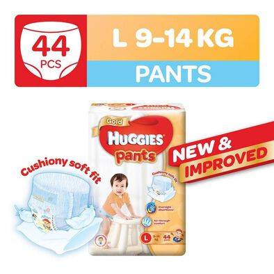 Huggies Gold Pants L