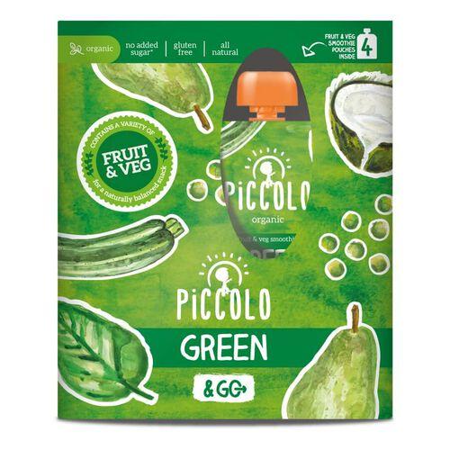 Piccolo Organic Green & Go 4 Pack