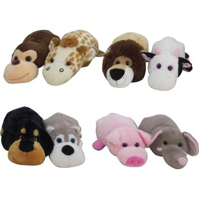 Animal Alley 14 Inch Turn Around Animal - Assorted