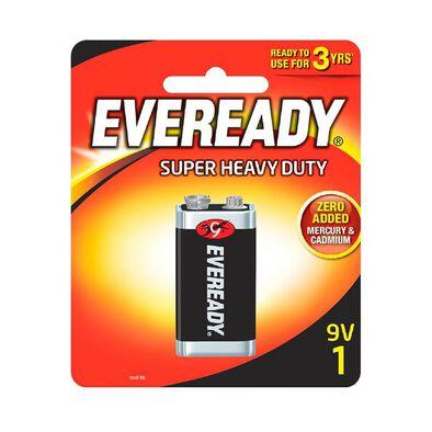 Eveready Super Heavy Duty 9V Size