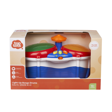 Top Tots Light-Up Bongo Drums
