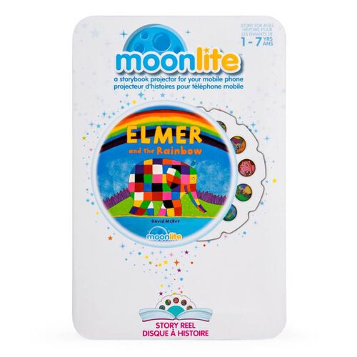 Moonlite Elmer And The Rainbow