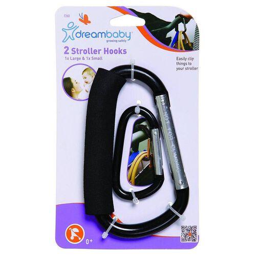 Dreambaby 2 Pack Stroller Hook