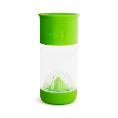 Munchkin 1-Pack 14oz Miracle Fruit Infuser Green