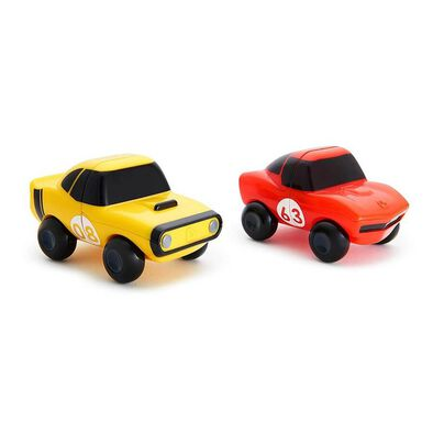Munchkin 2-Pack Magnet Motors Red