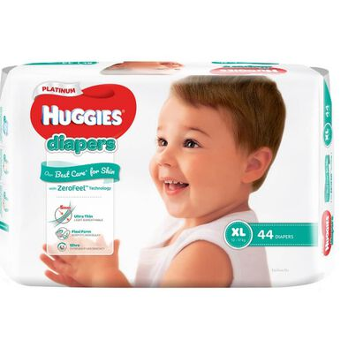 Huggies Platinum Diapers XL 44S