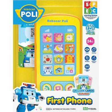 Robocar Poli First Phone
