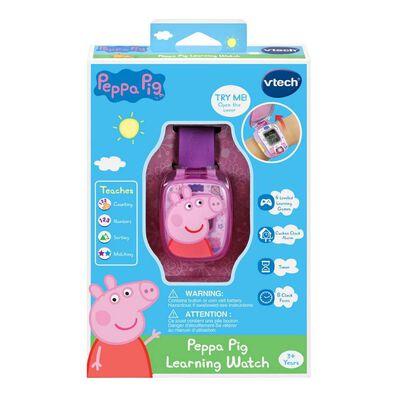 Peppa Pig Learning Watch Purple