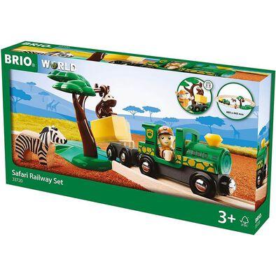 Brio Safari Railway Set