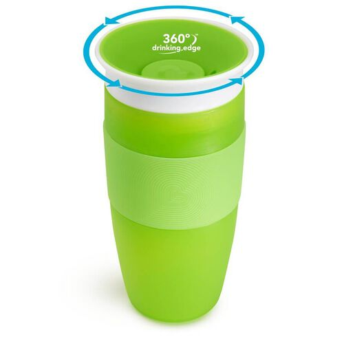 Munchkin Miracle 360 Cup 14oz Green