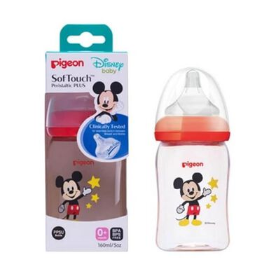 Pigeon Softouch Nursing Bottle 160ml Disney