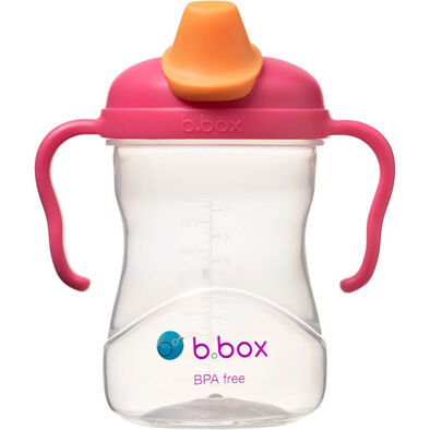 B.Box Spout Cup 8oz Raspberry