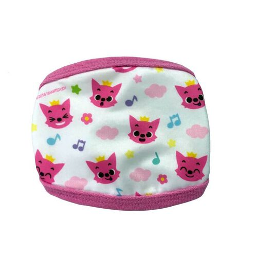 Pinkfong Cute Fashion Mask Pink Pattern