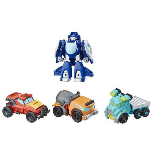 Playskool Heroes Transformers Rescue Bot Academy Rescue Team