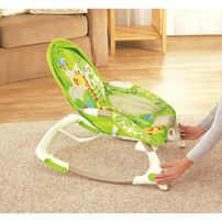 Fisher-Price - Rainforest Friends Newborn-To-Toddler Rocker