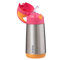 B.Box Insulated Drink Bottle 350ml Strawberry Shake