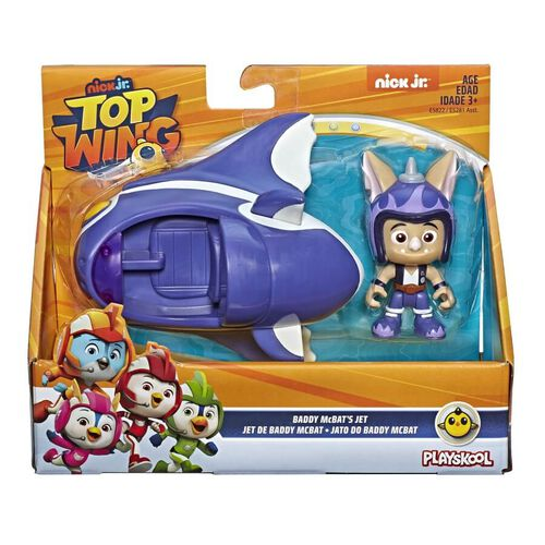 Top Wing Figure And Vehicle - Assorted