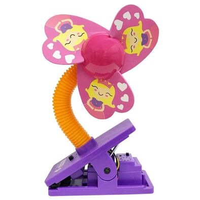Lucky Baby Mini Clipfan Ult Mosquito Repel Princess