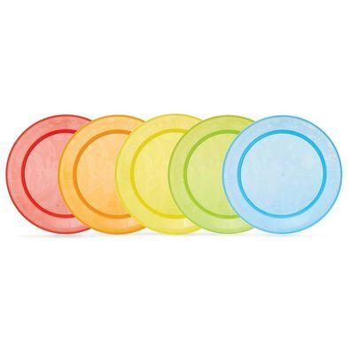 Munchkin 5 Pack Multi Plates - Assorted