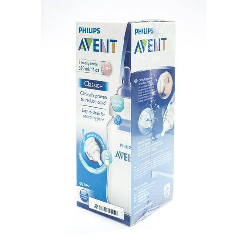 Philips Avent Classic Feeding Bottle Single 3 Months+