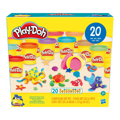 Play-doh Multicolor Magic Pack