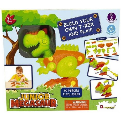 Junior Megasaur Build Your Own Dino
