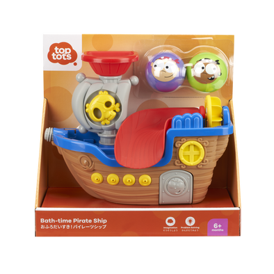 Top Tots Bath-Time Pirate Ship