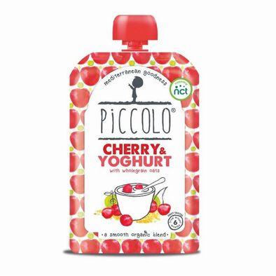 Piccolo Cherry Yoghurt With Wholegrain Oats