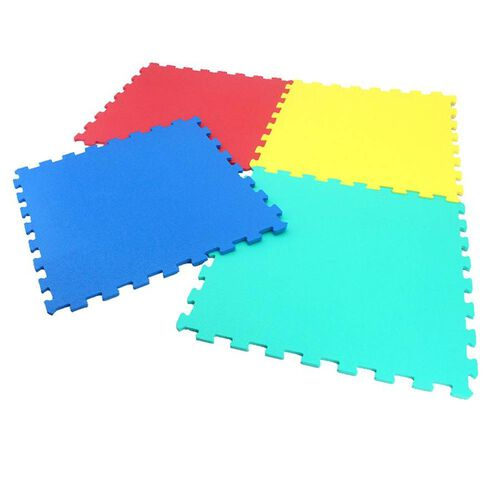 Sunta 4 Piece Coloured Puzzle Mat (Fitness Flooring System)