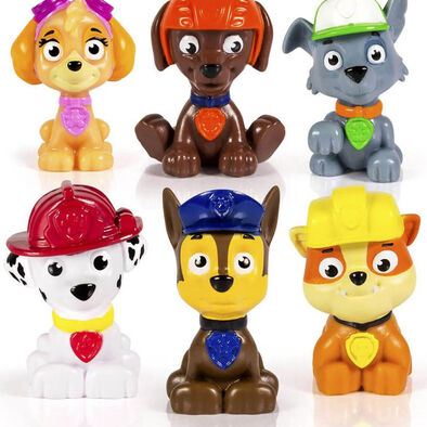 Mini Figure Rescue Team 6 Pk