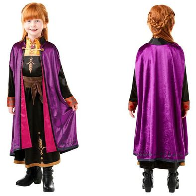 Rubies Disney Frozen 2 Anna Travel Dress Deluxe (M)