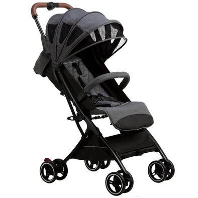 Bonbijou Luke Mini Stroller With Carry Bag Grey