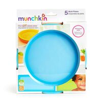 Munchkin 5 Pack Multi Plates - Assorted