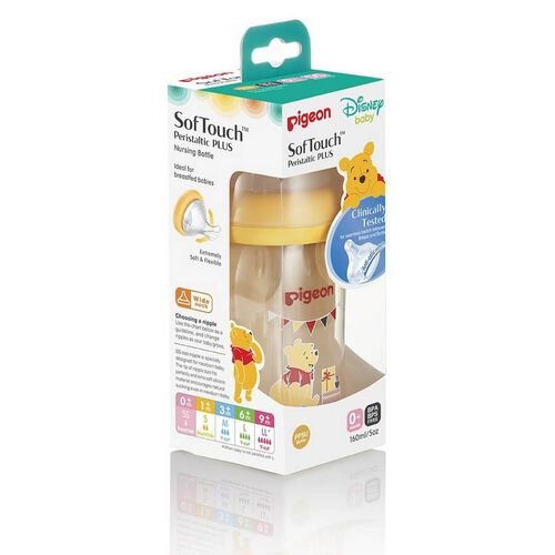 Pigeon SofTouch Winnie The Pooh (160ml)