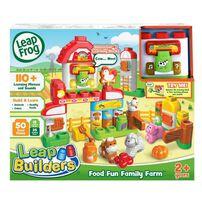 LeapFrog LeapBuilder Food Fun Family Farm