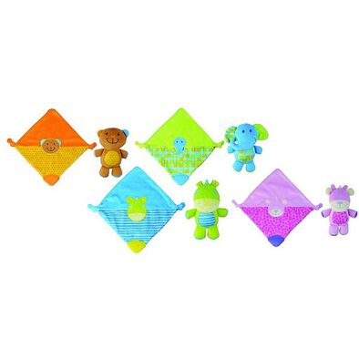 BRU Blanket N Soft Toy Combo - Assorted