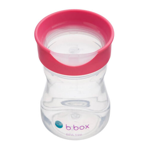B.Box Training Cup 8oz Raspberry
