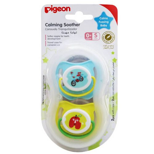 Pigeon Calming Soother Boy 2 Pieces Size S