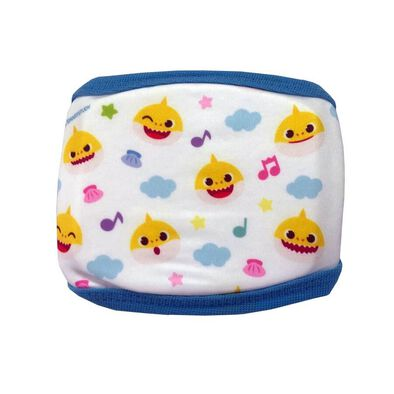 Pinkfong Cute Fashion Mask Blue Pattern