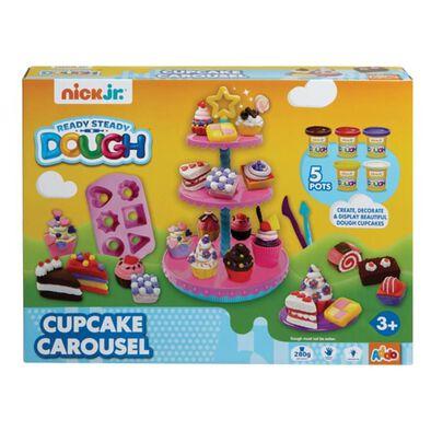 Nick Jr Ready Steady Dough Cupcake Carousel Set