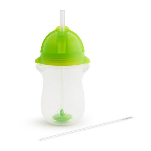 Munchkin Weighted Flexi Straw Cup 10oz-Green