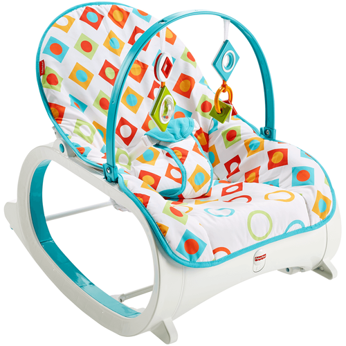 Fisher-Price Infant-To-Toddler Rocker Geo Diamonds