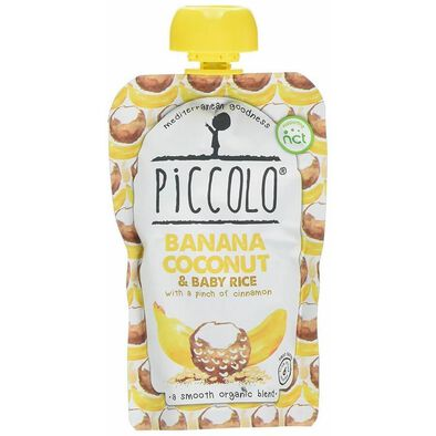 Piccolo Banana Coconut And Baby Rice