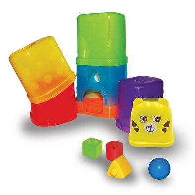 BRU Drop and Roll Stacking Blocks