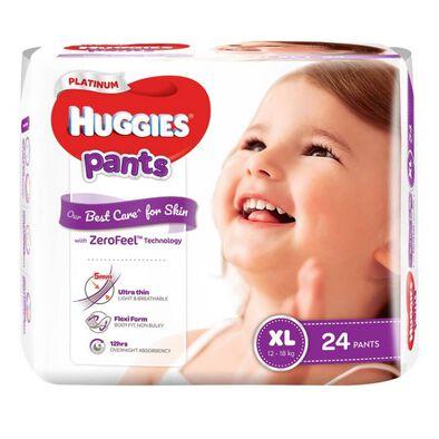Huggies Platinum Pants XL 24S