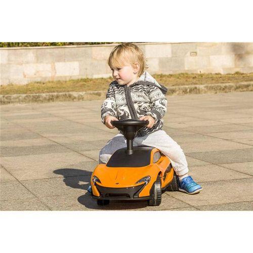 McLaren P1 Orange Ride On Car