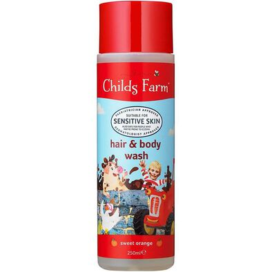 Childs Farm Hair and Body Wash Sweet Orange 250ml