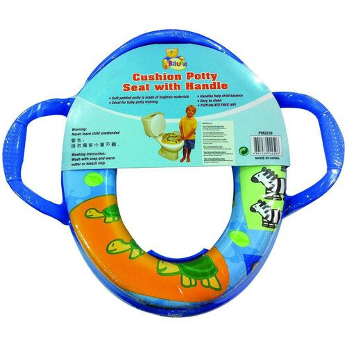 "Babies""R""Us Cushion Potty Seat With Handle"